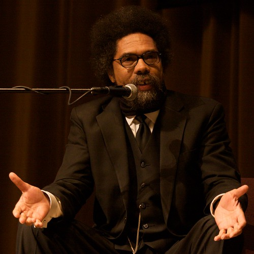 Cornel West at Calvin College 5