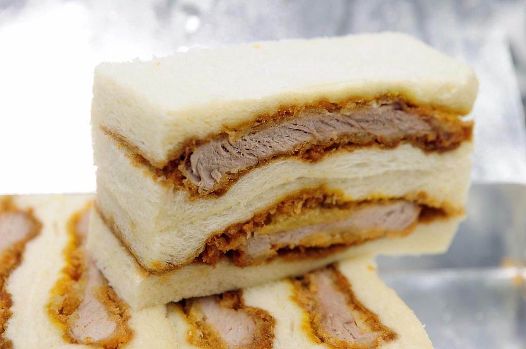杏子豬排-午餐豬排三明治
