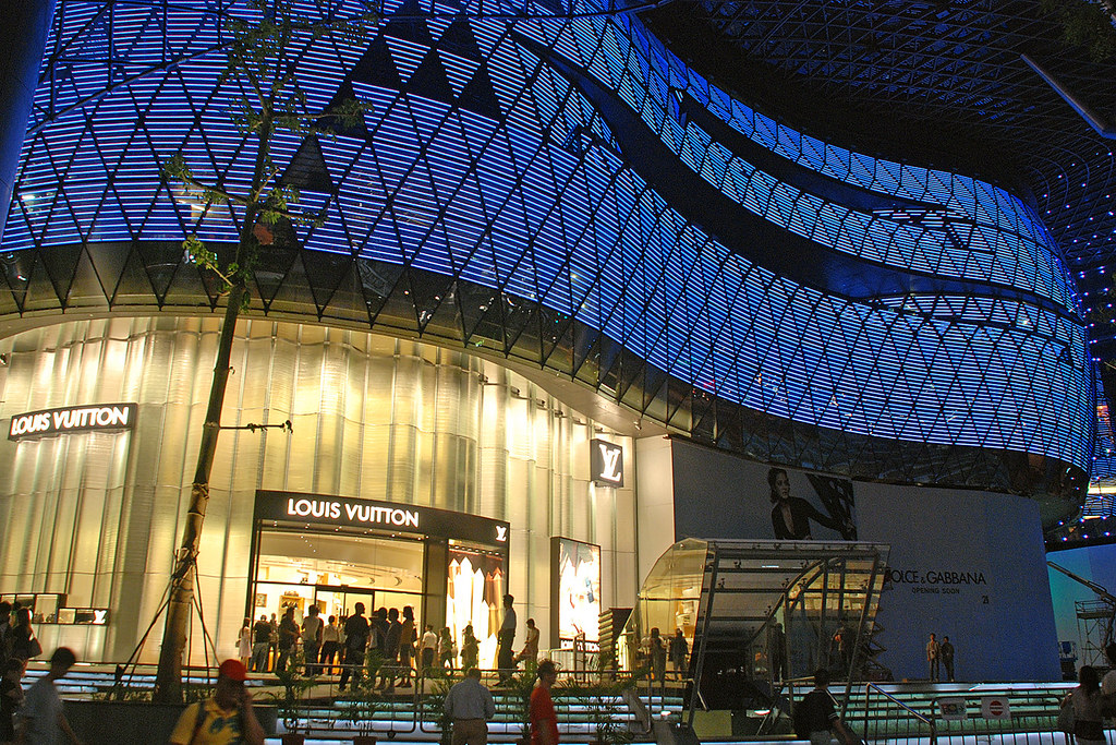 24b46025e4 ION Orchard #4 | ION Orchard facades with the LED lights | Choo Yut ...