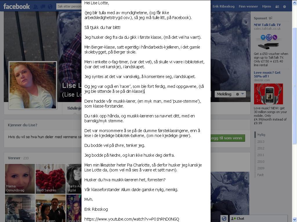 lise lotte facebook