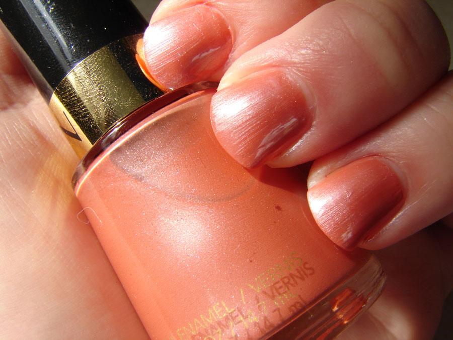 Revlon nail polish iced spice