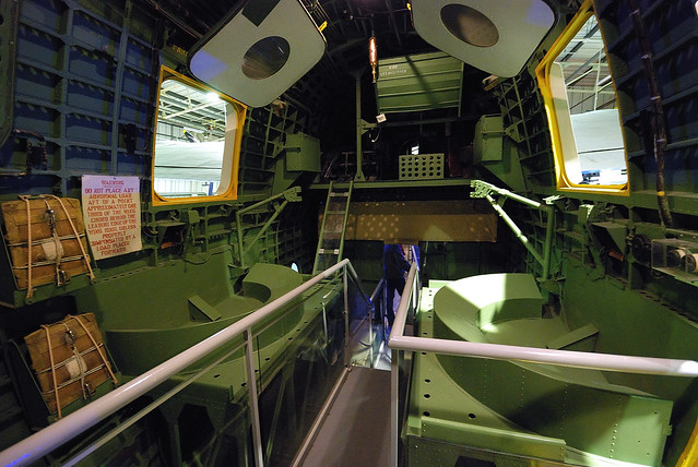 Interior of Short Sunderland Flying Boat