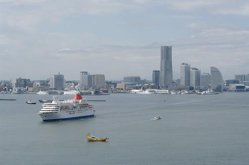 ふじ丸 at 横浜港 by sasaking