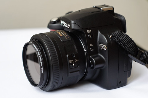 Nikon D60 with 35 mm f/1.8 AF-S DX Lens
