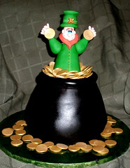 Leprechaun Cake for St. Patrick's Day
