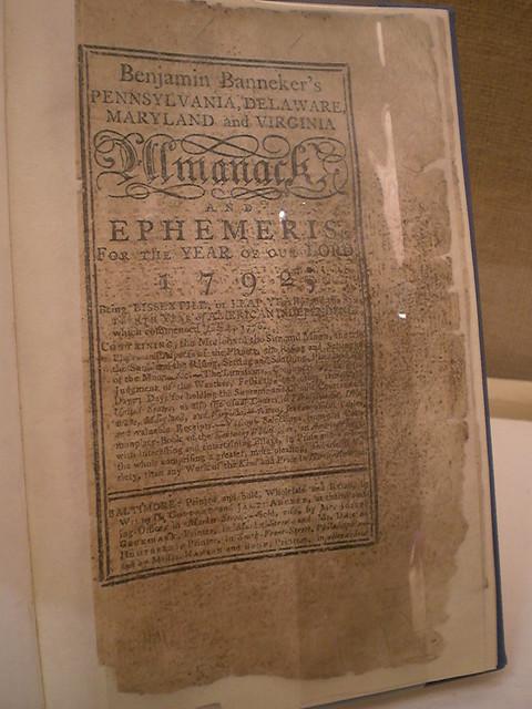 Benjamin Banneker Almanac at the African American Museum ...