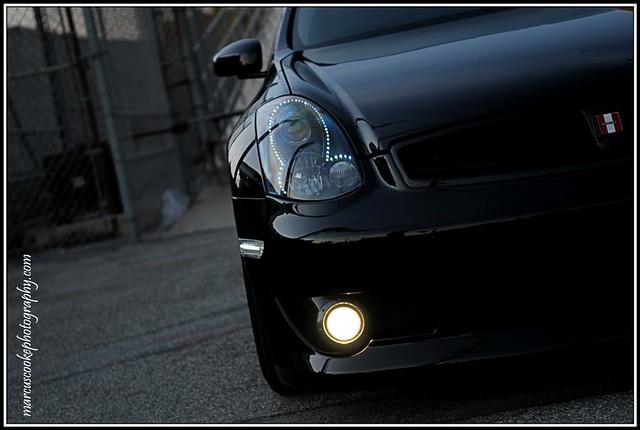Infiniti G35 Coupe - Custom Led Headlights