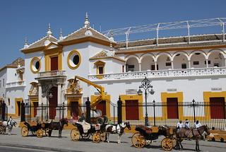 Sevilla vor Besuch der Schiffswerften und Hospital de la caridad