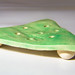 Triangle Soap Dish, Green