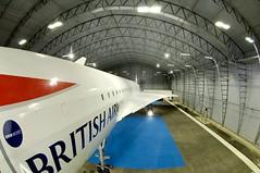Concorde Alpha Charlie at Manchester Eco Hangar 5
