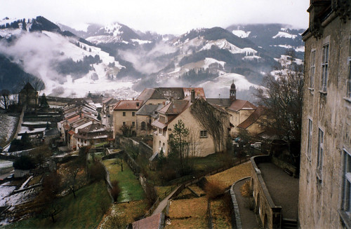 Gruyere over the rooftops