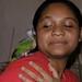 Mujer con su loro - woman with a parakeet; Honduras