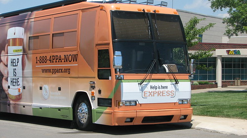 PPA Express Bus by Partnership for Prescription Assistance
