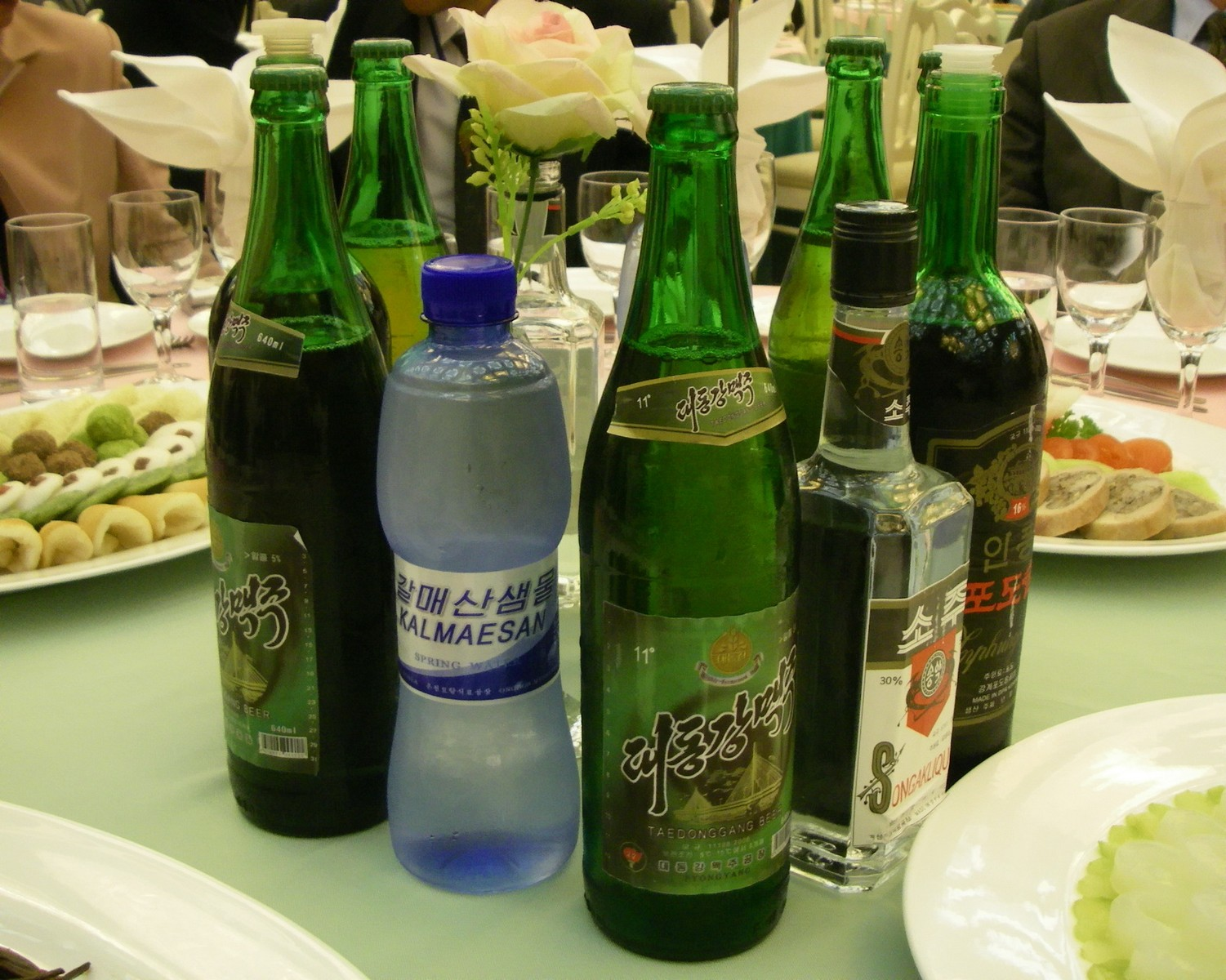 Drinks made in the DPRK