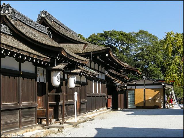 Shimogamo Shrine Grounds