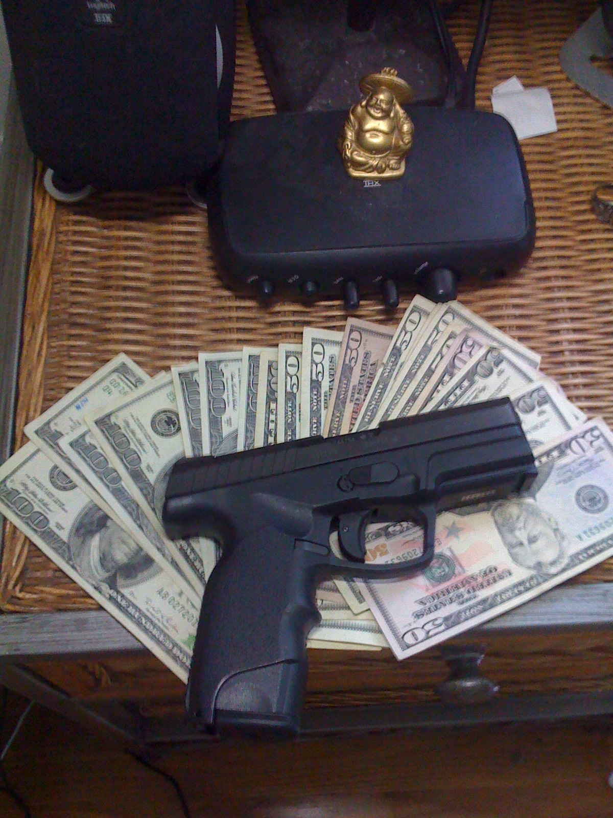 Gallery For > Money And Guns