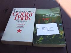 $7 for two books from Annerley Community Bookshop, Ipswich Rd, Annerley Junction, Brisbane, Queensland, Australia 090617