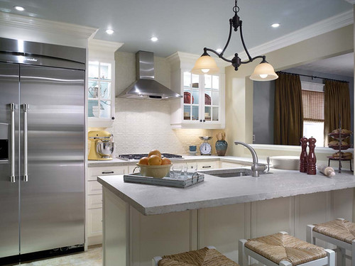 candice olsen tin tile backsplash kitchen flickr photo sharing