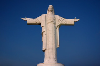 See the landmark statue of Jesus Christ at San Pedro Hill - Things to do in Cochabamba