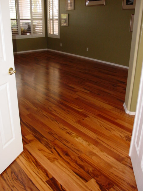 Tigerwood hardwood floor flickr photo sharing for Tigerwood hardwood flooring