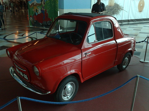 1960 Vespa 400 car