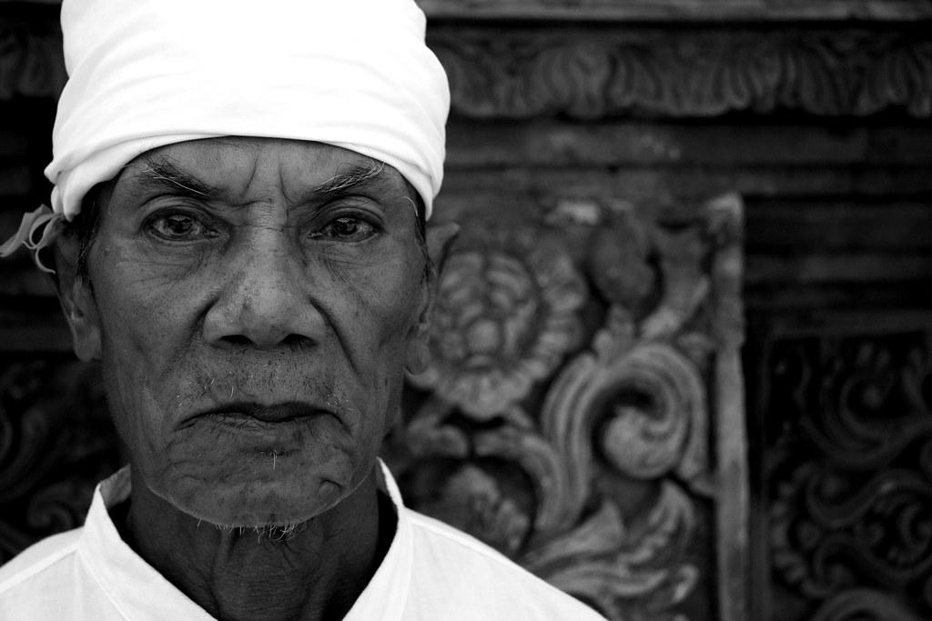 A Balinese Hindu Priest