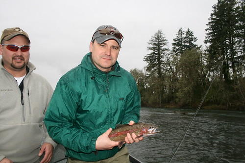 Mckenzie near eugene continues to fish well subsurface for Fishing eugene oregon