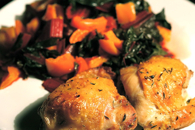 Roast Chicken with Thyme and Lemon | Flickr - Photo Sharing!