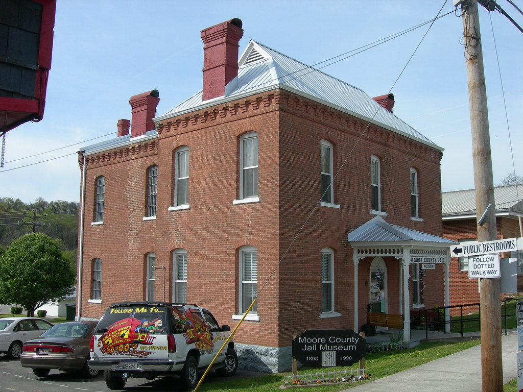 Old) Moore County Jail | Lynchburg, Tennessee In service fr… | Flickr