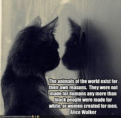 The animals of the world exist for their own reasons by muriell