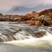 Waterfall on Rannoch Moor