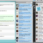 Social Media Desktop: Twhirl and Tweetie