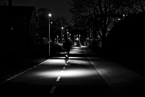 Bicycle Path by Night