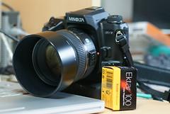 α-7 w/Minolta AF85mm F1.4G(D) and Kodak Ektar 100