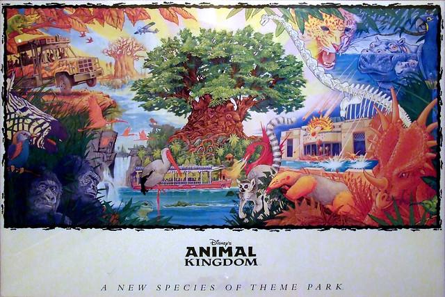 Original Animal Kingdom Lithograph
