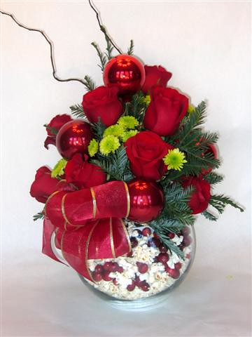 Christmas Holiday Floral Arrangement Flickr Photo