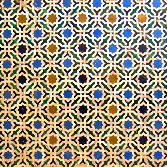 Alhambra Mosaics A Gallery On Flickr