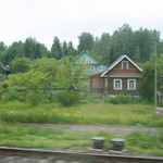 Houses in Leningrad oblast