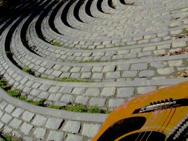 Guitar & Stairs
