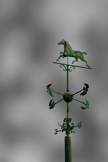Ames Clock Farm WeatherVane