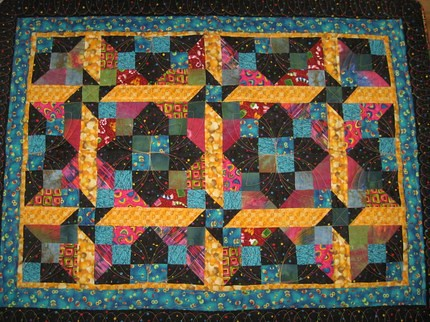 Mystery World Quilt