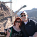Mike and I at the Hoover Dam by nerdcoregirl