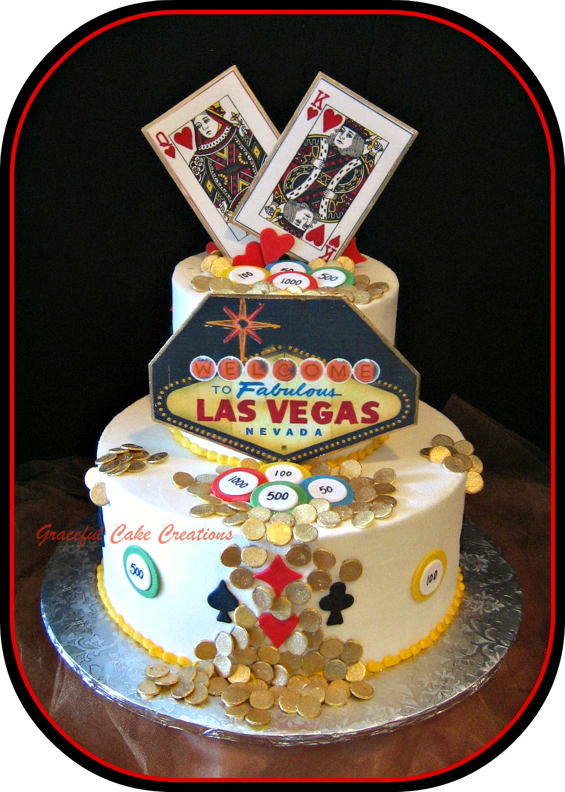 Las Vegas Themed Cake - Flickr - Photo Sharing!