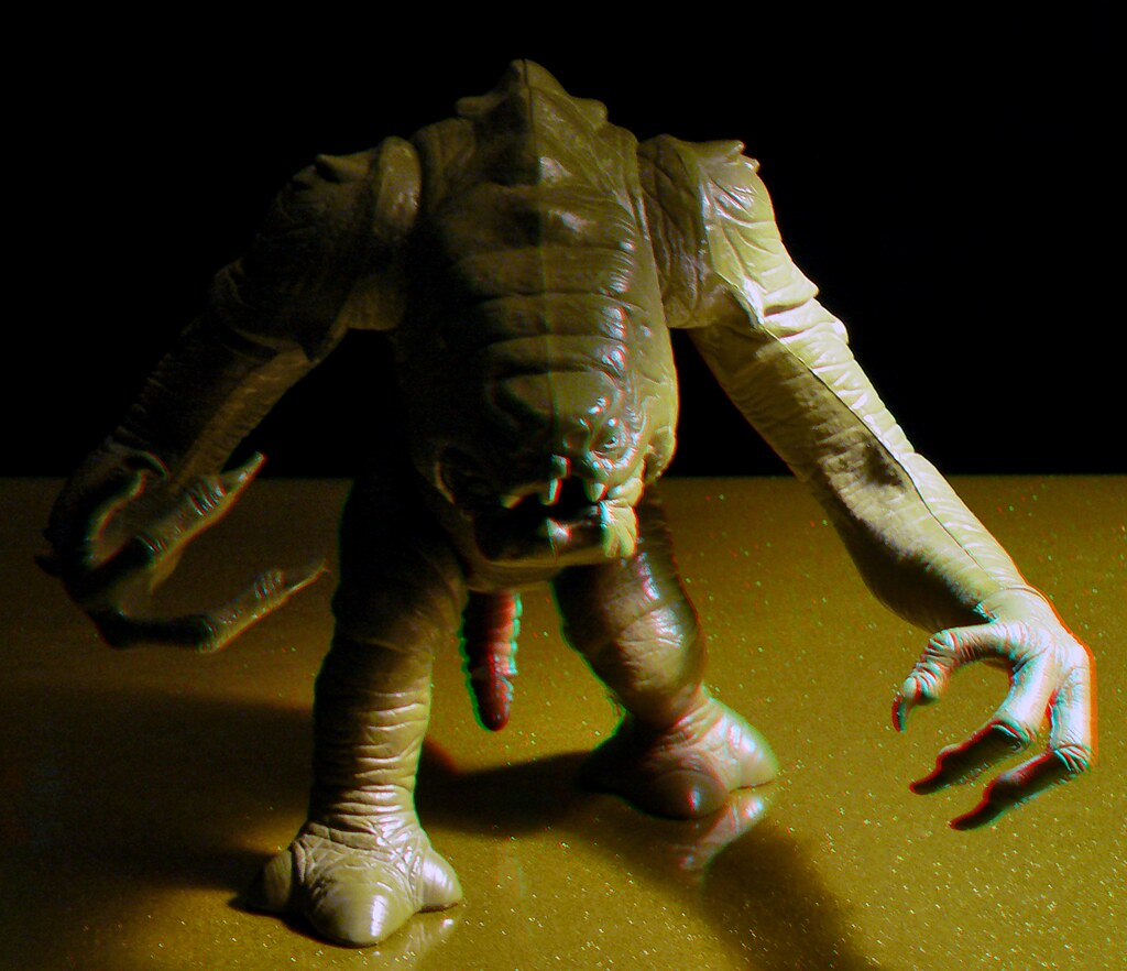 Rancor Monster (Anaglyph 3D) - a photo on Flickriver Rancor Monster
