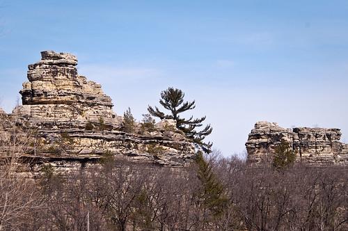 wisconsin iceage nikon sandstone erosion geology lightroom buttes campdouglas d90
