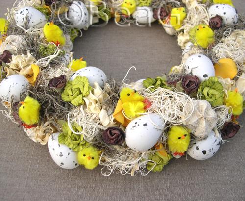 Another Easter Wreath (Nog een Paaskrans)