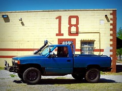 URBAN ASSAULT VEHICLE CODE NAMED FANG AT THE TOP SECRET HANGER 18 IN DOWNTOWN OKC