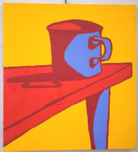 Mug, On the Corner