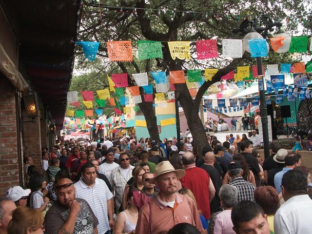 San Antonio Market Square Fiesta 2015