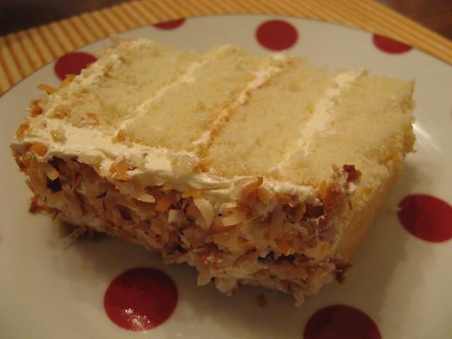 Layer Coconut Cake